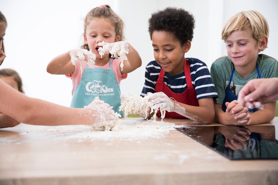 Cookies Kinderkochsalon – mit Spaß zur Lust auf gesunde Küche
