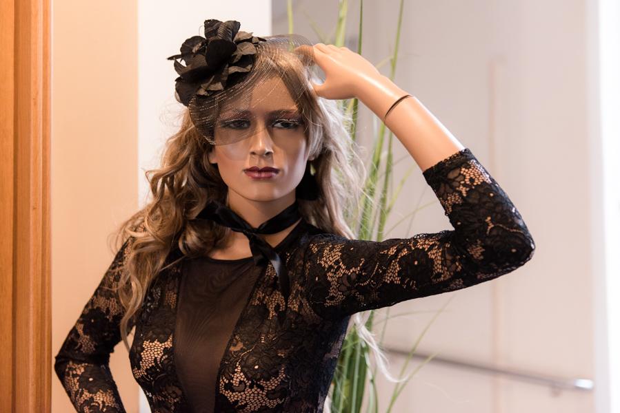 Josephine von Velvet Dessous, die bekannteste Schaufensterpuppe
