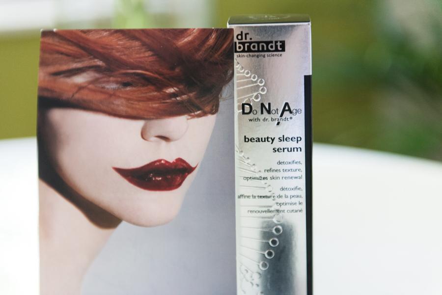 Schönheitsschlaf und die DNA Night Collection – Dr. Brandt