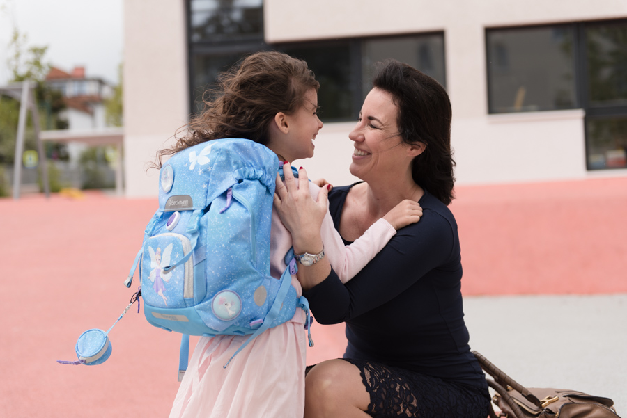 Unser Schulstart mit dem Schulrucksack von Beckmann by Norway