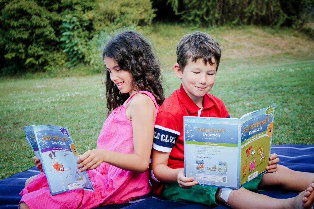Top vorbereitet ins neue Schuljahr dank Ferienheften von VERITAS