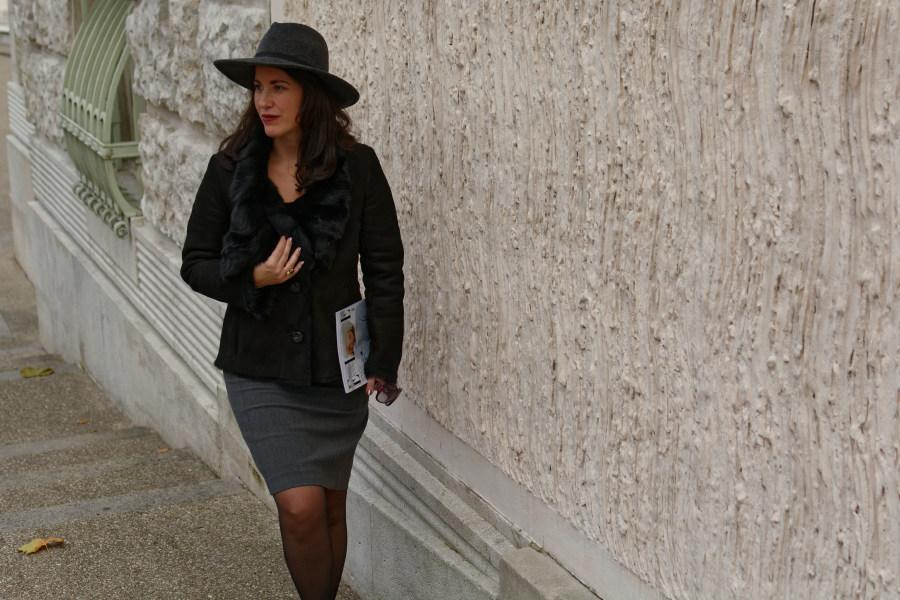 Mein graues Business Outfit für die letzten Wintertage <3