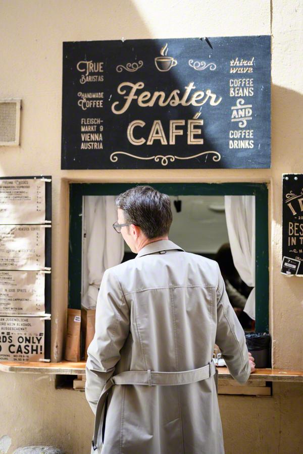 """Das """"andere"""" Wiener Kafffeehaus ohne Sitzplätze"""