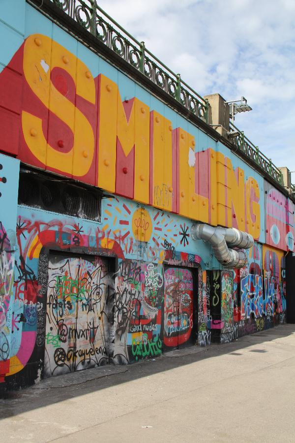 Blogparade – der beste Spot für Streetart in Wien – Donaukanal