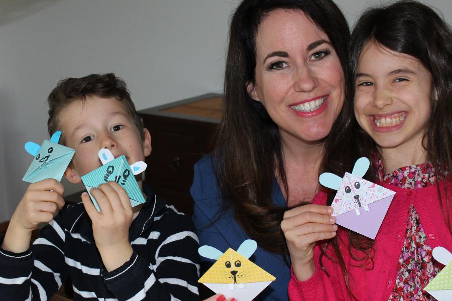 Bunny Bookmark Challenge by Thalia
