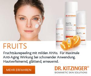 DR. KITZINGER® - Hautverfeinernde Nachtcreme mit 8% milden Fruchtsäuren